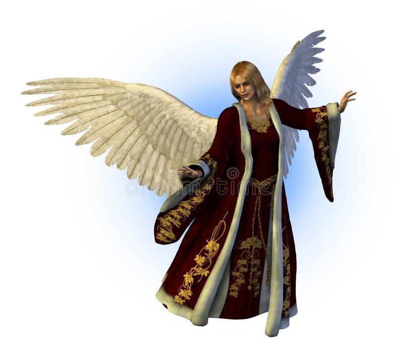 Święta aniołów ilustracja wektor