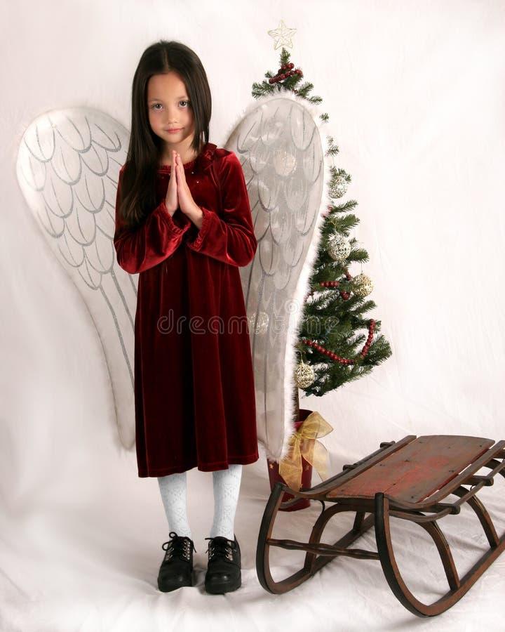 Święta aniołów obraz stock