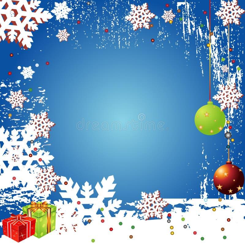 Święta backgr zimy wektora royalty ilustracja