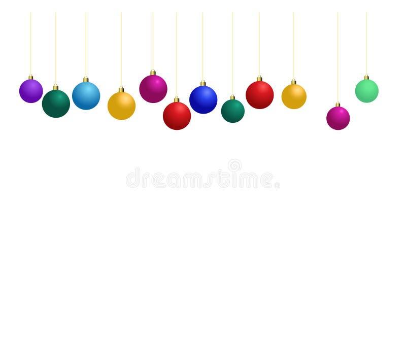 Święta bal ilustracja wektor