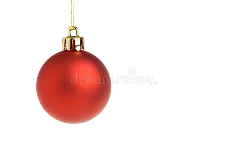 Święta bal czerwone obraz stock