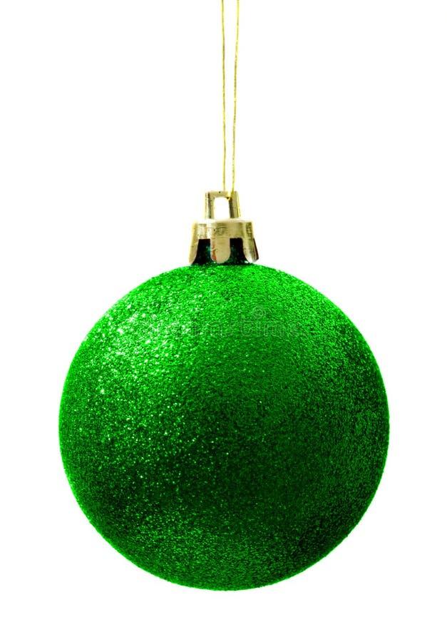 Święta balowych ziarnista zielony świeci zdjęcie stock