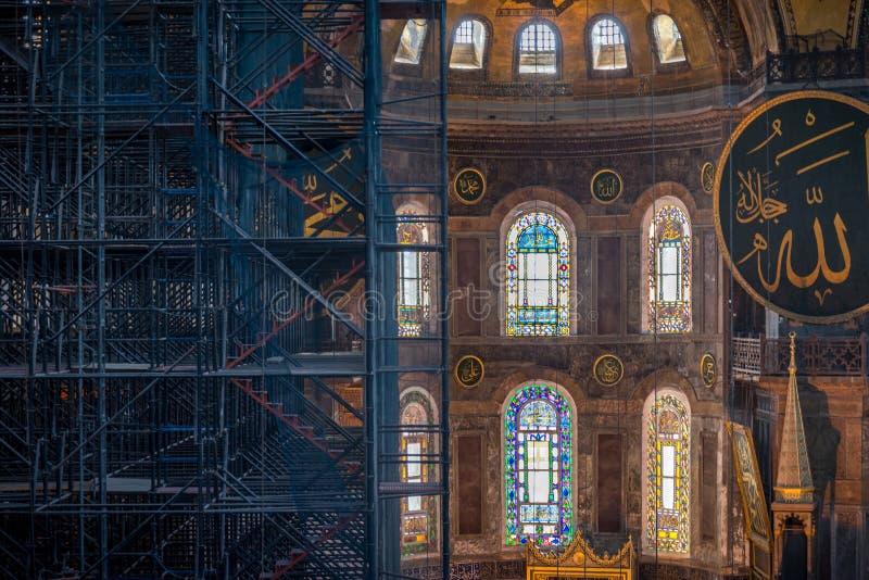 Święta bazylika sofÃa Istambul, Turcja, - obraz stock