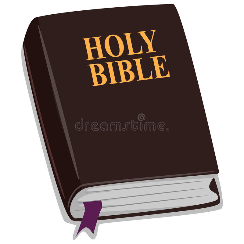 Święta biblia ilustracja wektor