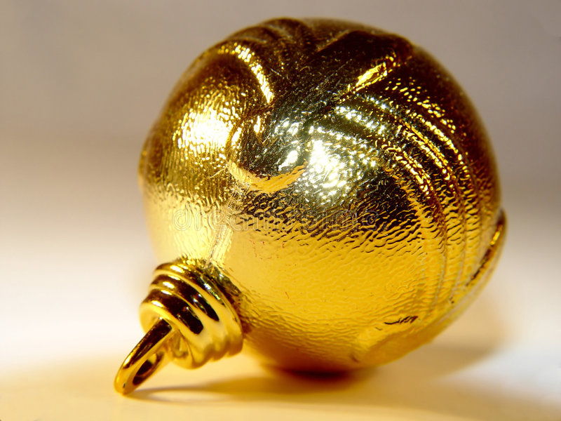 Święta Blub żółte Zdjęcia Stock