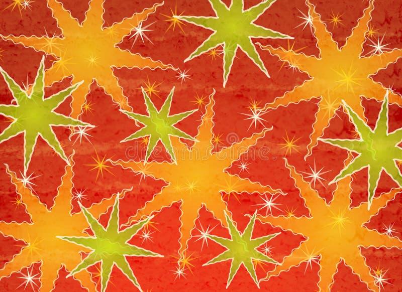 święta bożego 2 światła deseniują gwiazdę ilustracji