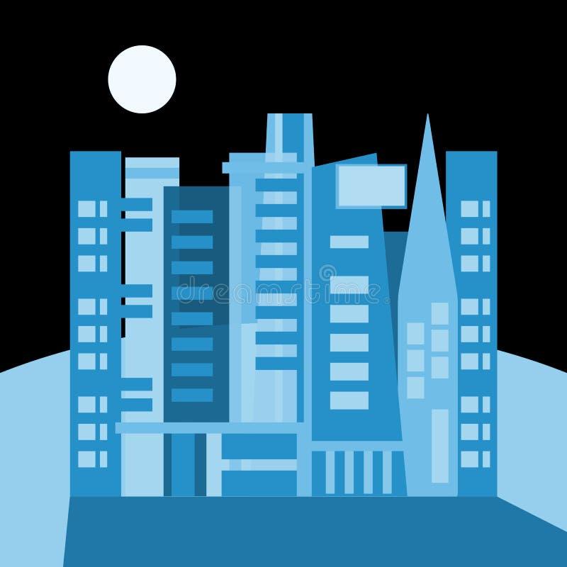 święta bożego miasta wróżki Łotwy nocy prowincjonału podobnej wkrótce bajka ilustracja wektor
