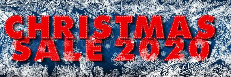 Święta Bożego Narodzenia, nowy rok, baner sprzedaży zimowej Plakat, tło, ulotka, wizytówka, projekt szablonu z płatkami śniegu, g ilustracji