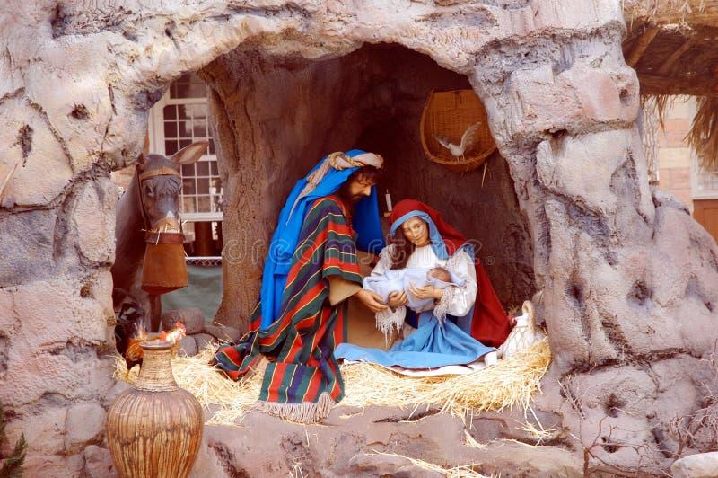 święta bożego narodzenia placu świątyni jezusa zdjęcie stock