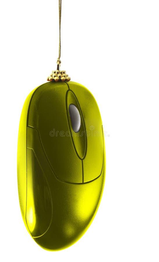 święta bożego złota mysz fotografia royalty free