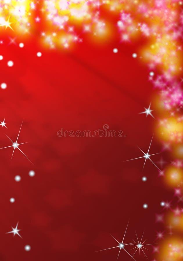 Święta czerwone tło ilustracji