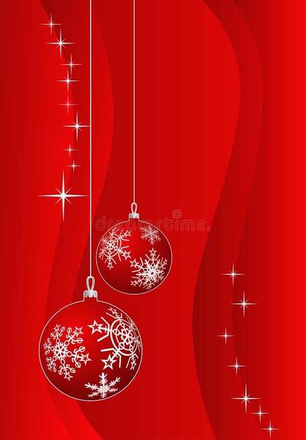 Święta decoratio tło ilustracja wektor
