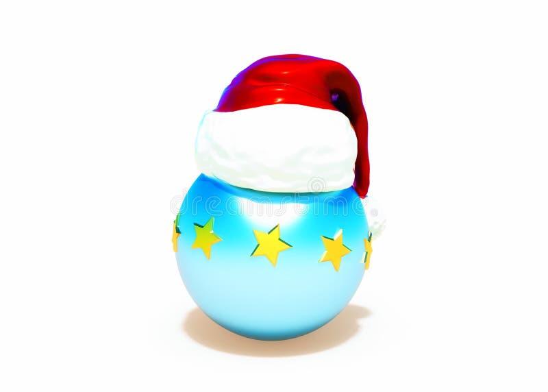 Święta dekorują odznaczenie domowych świeżych pomysłów Błękitni boże narodzenia balowi obraz stock