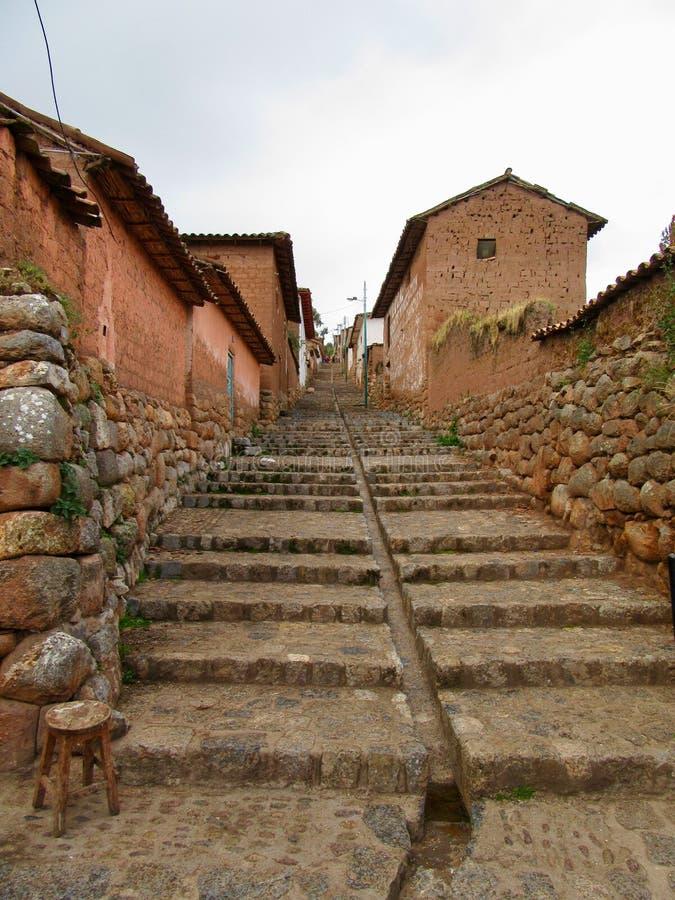 Święta dolina 5he Incas zdjęcia royalty free