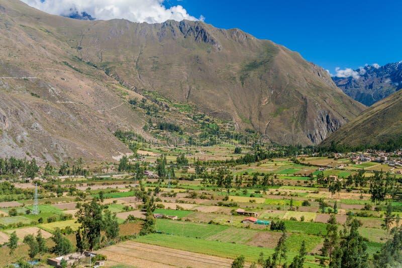 Święta dolina Incas zdjęcie royalty free