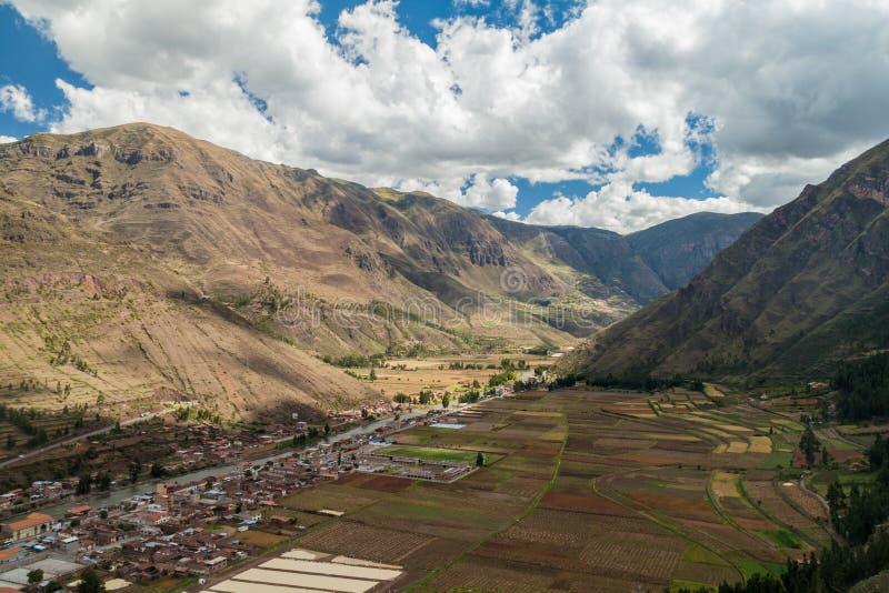 Święta dolina Incas zdjęcia royalty free