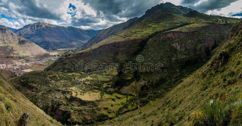Święta dolina Incas obraz royalty free