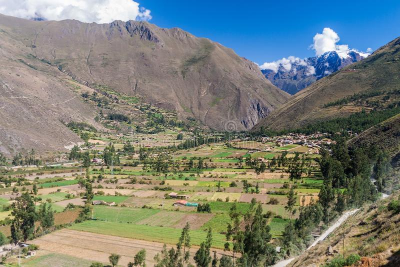 Święta dolina Incas obrazy royalty free