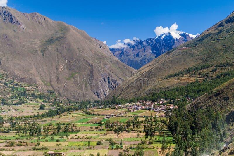 Święta dolina Incas fotografia stock
