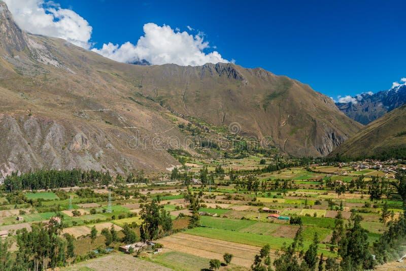 Święta dolina Incas zdjęcia stock
