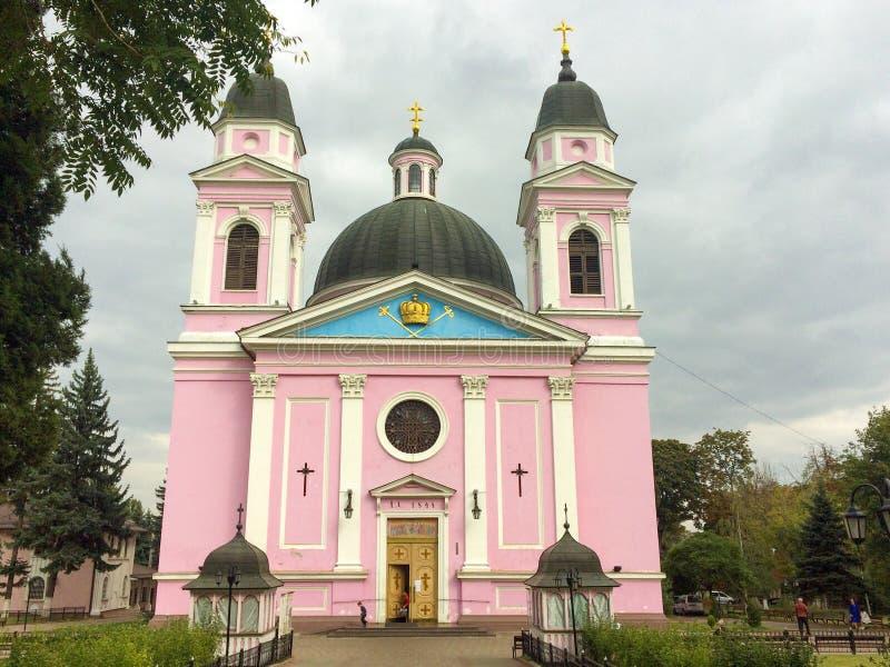 Święta Dukhovskoi katedra fotografia stock