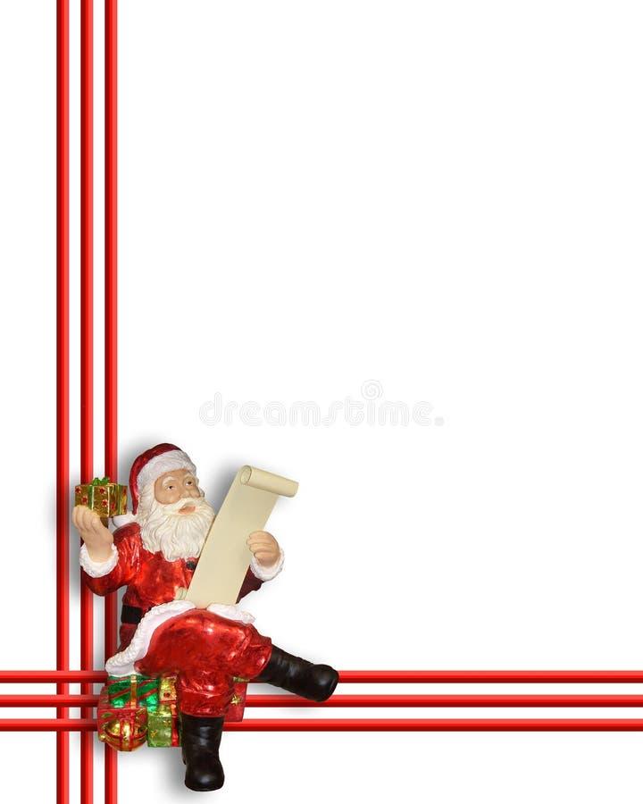 Święta granicznych Santa Claus ilustracji