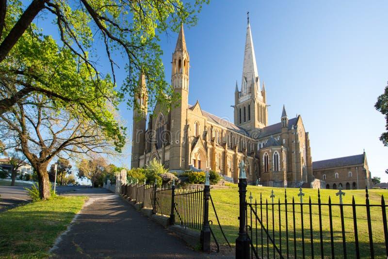 Święta Kierowa katedra w Bendigo zdjęcie stock