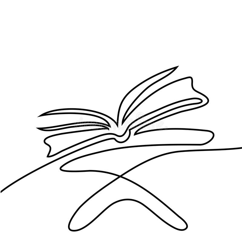 Święta księga Koran na stojaku ilustracja wektor