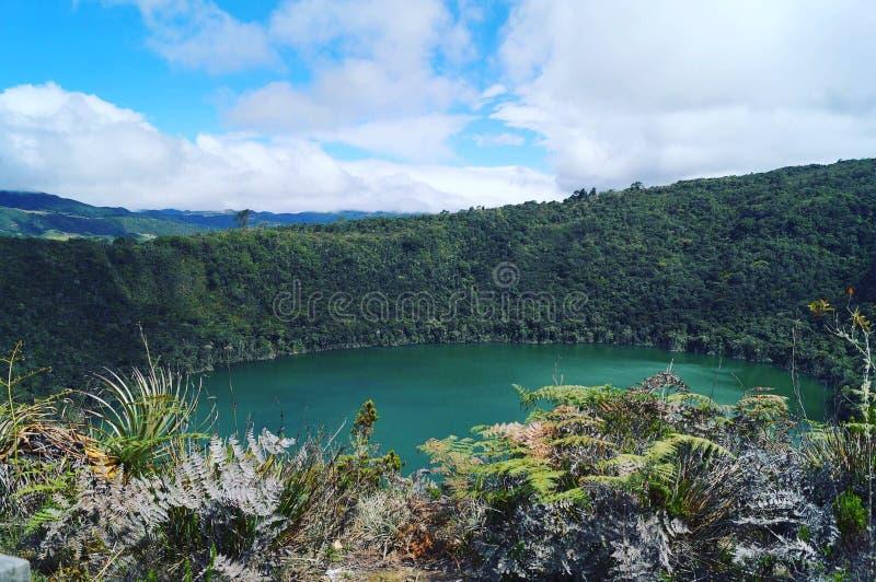 Święta laguna zdjęcie royalty free