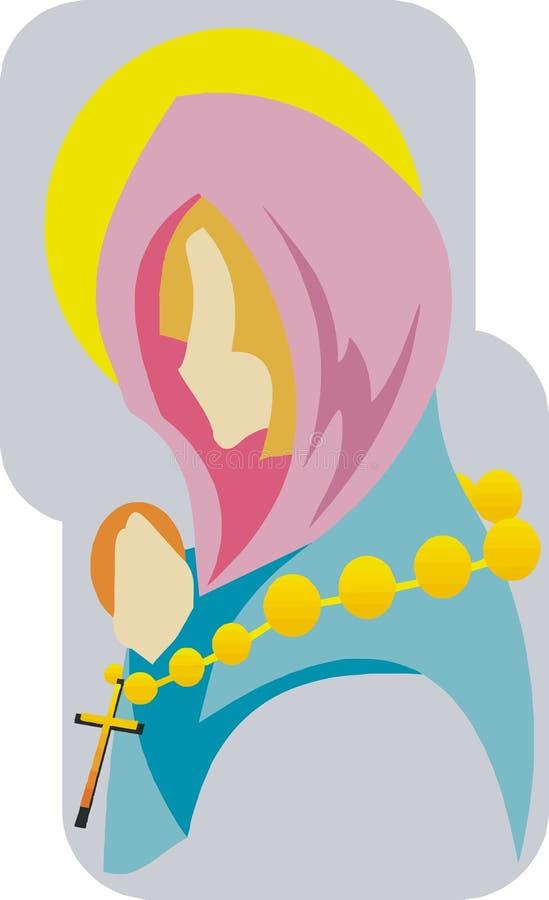 święta maria royalty ilustracja