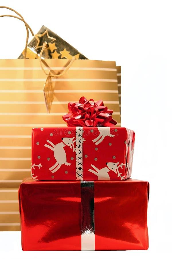 Święta na zakupy. fotografia stock
