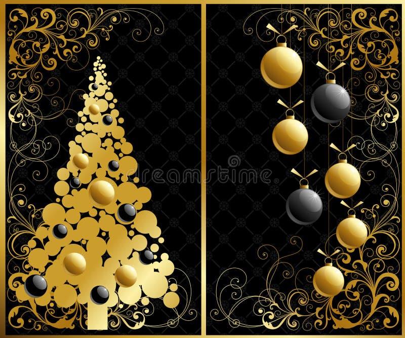 Święta odłogowania ilustracja wektor