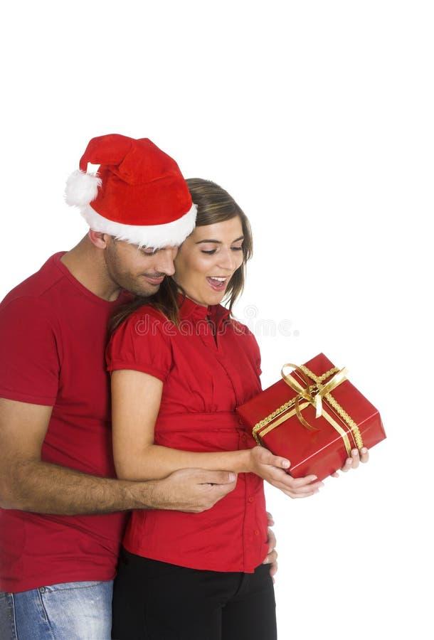 Święta są pogrupowane szczęśliwy obrazy stock