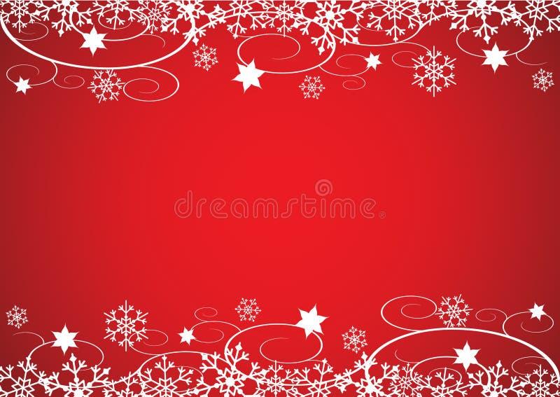 Święta tła czerwono nowy rok ilustracja wektor