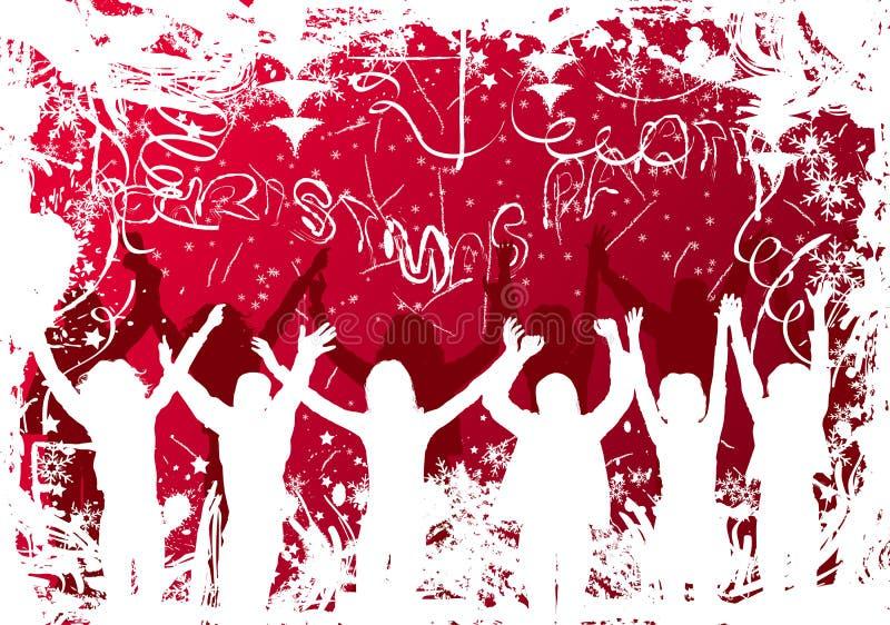 Święta tła grunge wektora ilustracji
