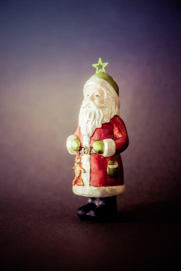 Święta tła na czarnej dekoracji 4 zdjęcie royalty free