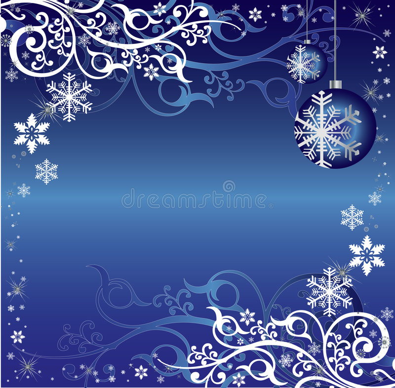 Święta tła niebieskiego wzór na temat white ilustracja wektor