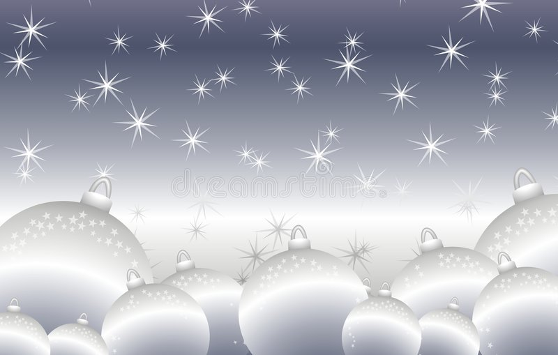 Święta tła ornamentów lśniące srebro round ilustracji