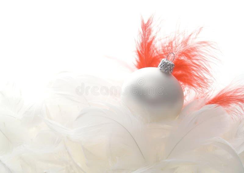 Święta z piór szklanych obrazy royalty free