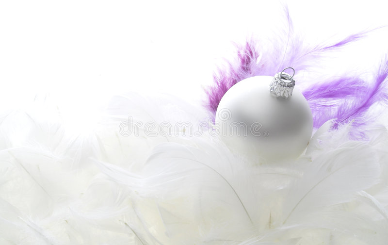 Święta z piór szklanych obraz royalty free