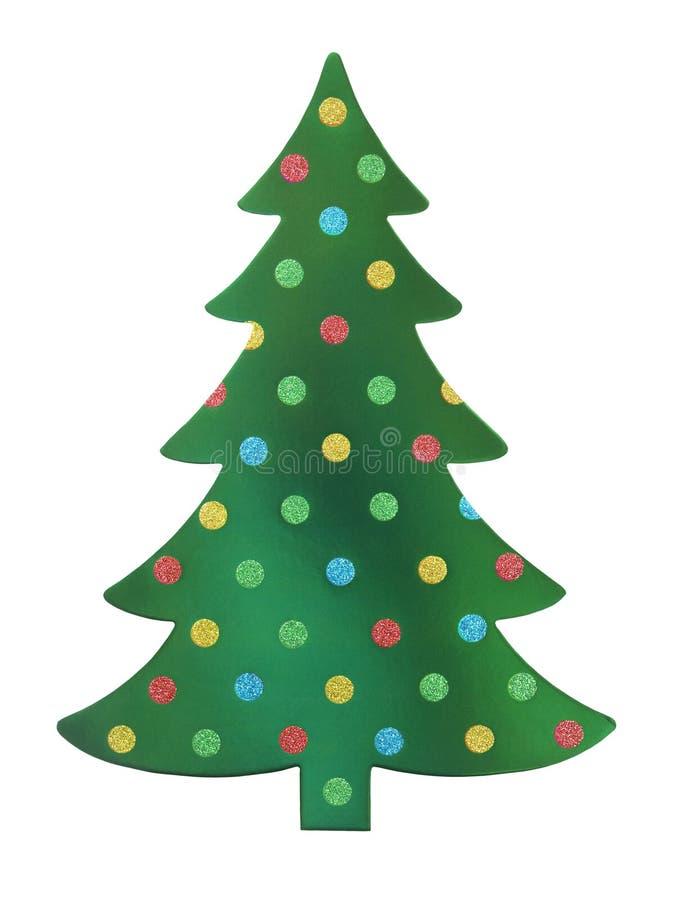 Święta zielone drzewa zdjęcie royalty free