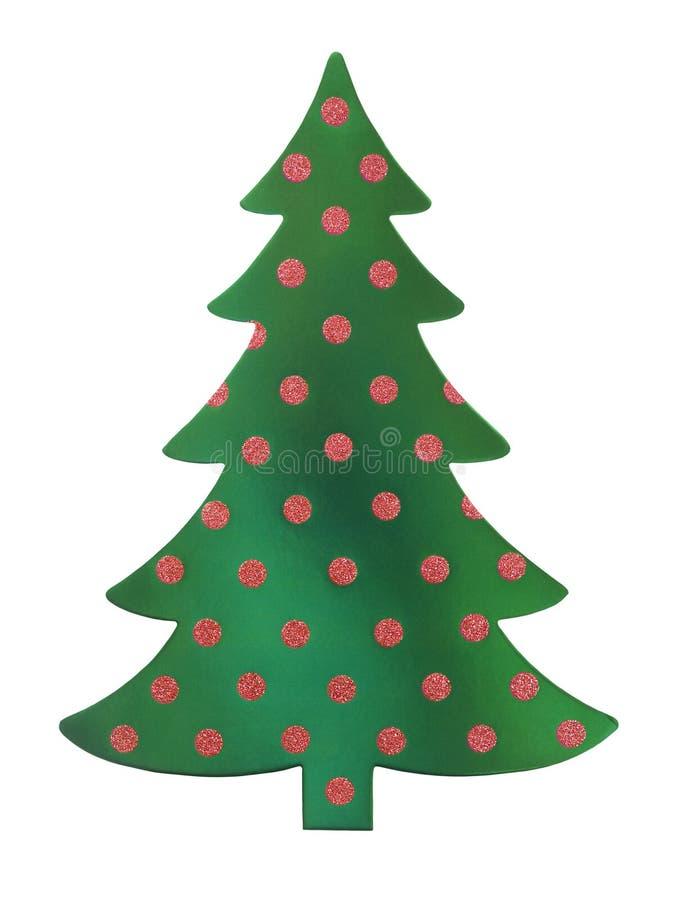 Święta zielone drzewa obraz royalty free