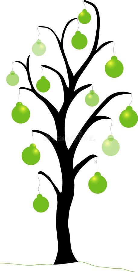 Święta zielone drzewa