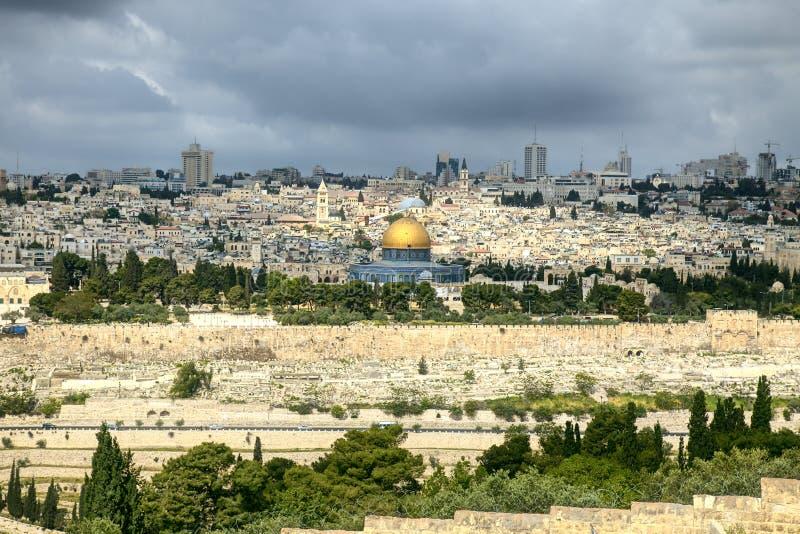 Święte miasto Jerozolima zdjęcie stock