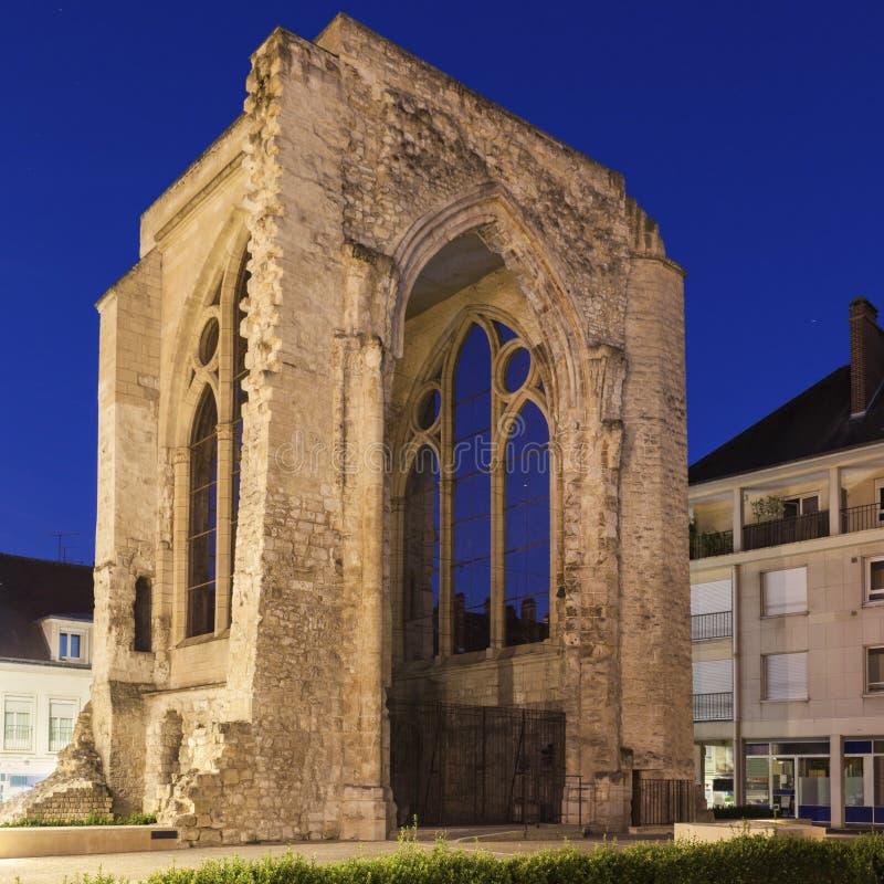 Świętego Barthelemy kościół w Beauvais zdjęcie royalty free