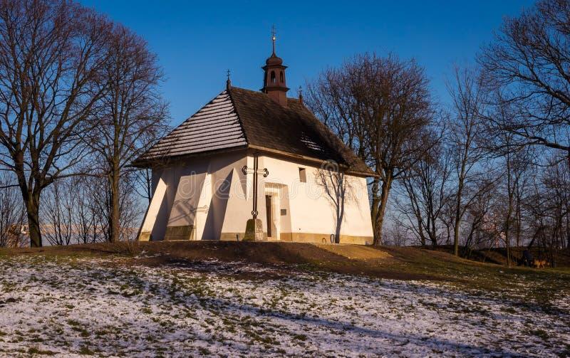 Świętego Benedykt kościół w Krakowskim zdjęcia royalty free