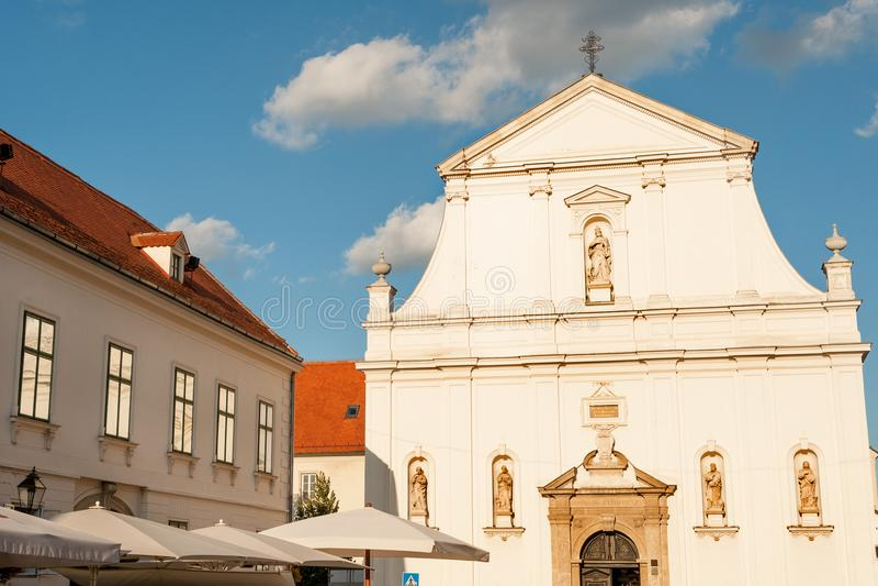 Świętego Catherine kościół fotografia stock