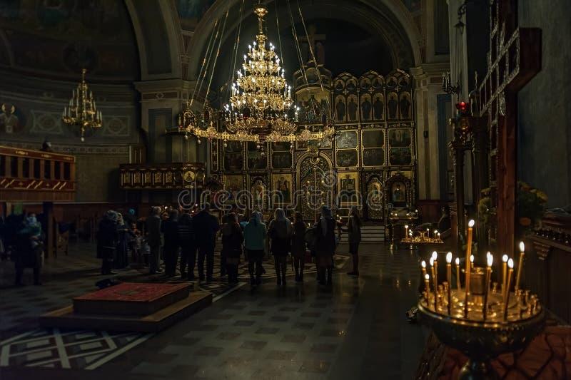 Świętego ducha Ortodoksalna katedra w Chernivtsi, Ukraina fotografia stock