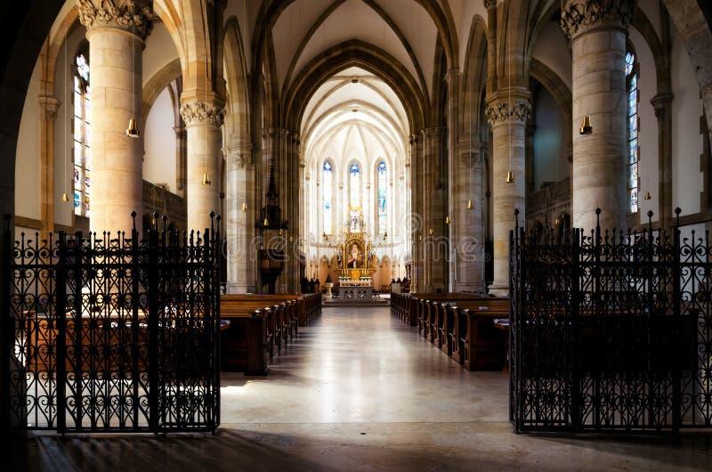Świętego Elisabeth farny kościół w Wiedeń zdjęcia stock