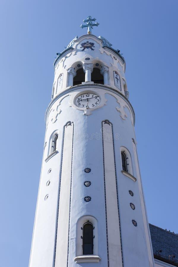 Świętego Elisabeth kościół w Bratislava zdjęcie royalty free